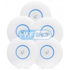 Комплект точек доступа UniFi AC Pro AP из 5 штук