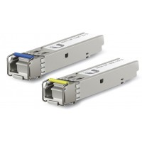 Ubiquiti U Fiber modules (UF-SM-1G-S) пара SFP модулей