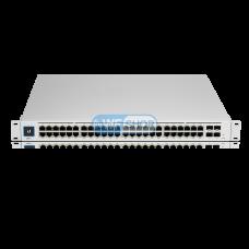 Ubiquiti UniFi Switch USW-Pro-48-POE (USW-Pro-48-POE) Коммутатор 48 портов 1000Base-TX, 4xSFP, Gen2