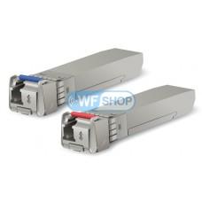 Ubiquiti U Fiber modules (UF-SM-10G-S) пара одномодовых SFP+ модулей 10 Gbps 10 km