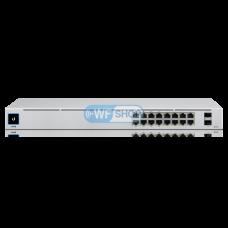 Ubiquiti UniFi Switch USW-16-POE (USW-16-POE) Коммутатор 16 портов 1000Base-TX, 2xSFP, Gen2