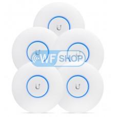 Комплект точек доступа UniFi AC Lite 5-Pack